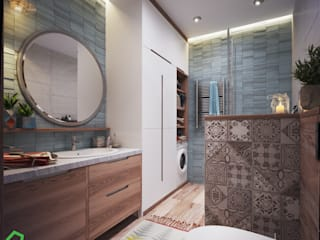 Apartment Myalik: Ванные комнаты в . Автор – Polygon arch&des