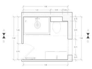 Rénovation d'une salle de bains AUDELIA HOME DESIGN