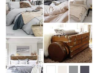 planche inspiration déco: Chambre de style  par AUDELIA HOME DESIGN