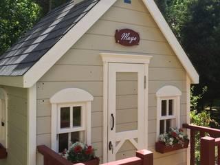 Cottage loft Dormitorios infantiles de estilo moderno de Minik Ev Moderno