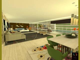 Casa integrada de Rangel & Bonicelli Design de Interiores Bioenergético