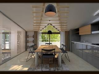 LBC İNŞAAT -ÖRNEK DAİRE Modern Mutfak VANETTA KÜCHEN Modern