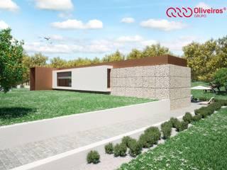 Casas estilo moderno: ideas, arquitectura e imágenes de Oliveiros Grupo Moderno