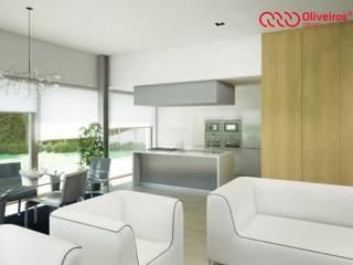 1407-PC-1214 Cozinhas modernas por Oliveiros Grupo Moderno