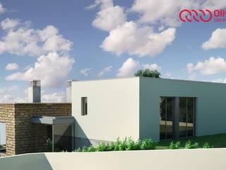 1328-VF-0813 Casas modernas por Oliveiros Grupo Moderno