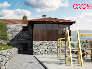 1274-RM-0812 Casas rústicas por Oliveiros Grupo Rústico