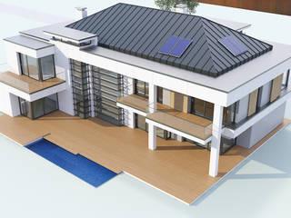 Maisons modernes par MG Projekt Projekty Domów Moderne