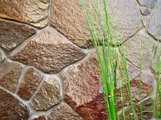 大河の庭: 作庭処 植徳が手掛けた庭です。