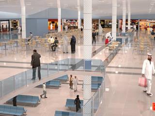 Terminal Aeroportuário - Arábia Saudita por PIXELfx