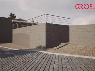 Arranjo exterior/alargamento de um cemitério Casas clássicas por Oliveiros Grupo Clássico