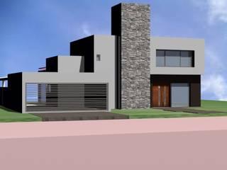 Case moderne di ARQUITECTA CARINA BASSINO Moderno