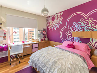 Apartamento 10A Grand Europa - NMD NOMADAS: Cuartos infantiles de estilo moderno por NMD NOMADAS