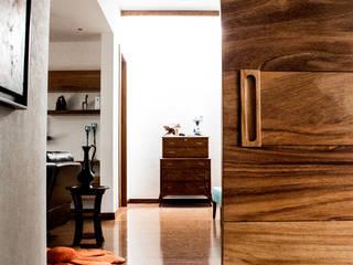 San Angel Puertas y ventanas minimalistas de 2M Arquitectura Minimalista