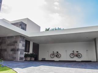 San Angel Casas modernas de 2M Arquitectura Moderno