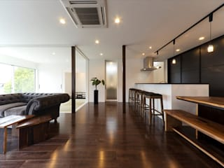 Asian style dining room by フォーレストデザイン一級建築士事務所 Asian