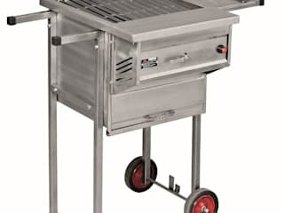 MULTIBRAAI NO.1 PORTABLE WITH OVEN:   by Hyper Lighting and Fires