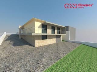 1239-SS-0112 Casas modernas por Oliveiros Grupo Moderno