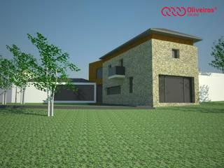 1142-LG-0610 Casas rústicas por Oliveiros Grupo Rústico