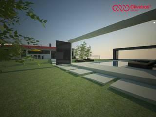 1143-JP-0610 Casas modernas por Oliveiros Grupo Moderno