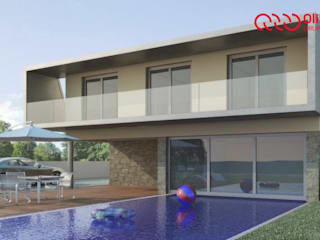 1044-MP-0808 Casas modernas por Oliveiros Grupo Moderno