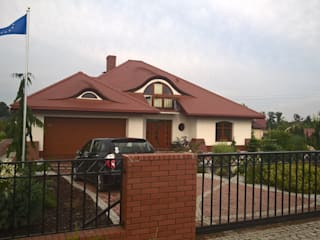 Seweryna G2 - dom, obok którego nie można przejść obojętnie! Klasyczne domy od Pracownia Projektowa ARCHIPELAG Klasyczny