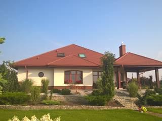 Seweryna G2 - dom, obok którego nie można przejść obojętnie! : styl , w kategorii Domy zaprojektowany przez Pracownia Projektowa ARCHIPELAG,Klasyczny