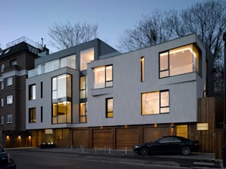 Nutley Terrace: modern Houses by Belsize Architects