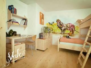 Vale murales e decorazioni Kamar Bayi/Anak Gaya Rustic Multicolored