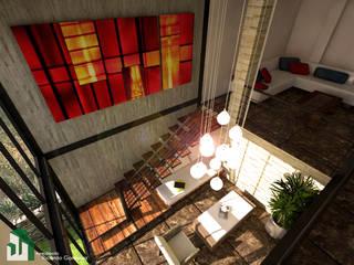 Acceso al interior del recinto de bienvenida:  de estilo  por Arquitecto Ricardo Gonzalez