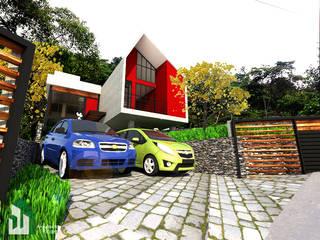 Vista de la Antesala a los Visitantes:  de estilo  por Arquitecto Ricardo Gonzalez