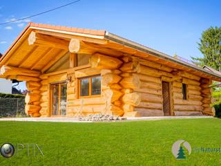Holzhaus vom Boden:   von SkyOptix UG