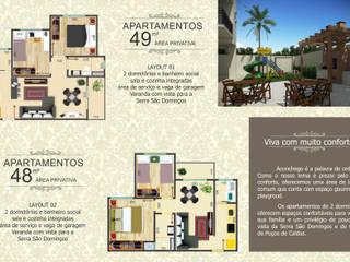 Residencial Império Romano por Draw Arquitetos do Brasil Ltda