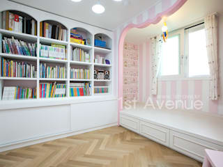 Habitaciones para niños de estilo minimalista de 퍼스트애비뉴 Minimalista