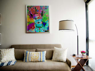 Choapan Decor by Erika Winters®Design Erika Winters® Design Eclectic style living room