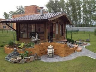Scandinavian style garden by СВ Scandinavian