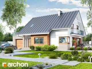 Projekt domu ARCHON+ Dom w aurorach 4 od ARCHON+ PROJEKTY DOMÓW