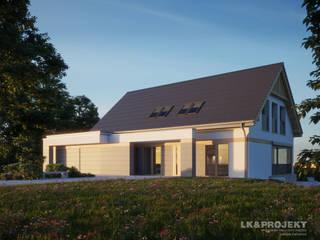 LK&1313: styl , w kategorii Ogród zaprojektowany przez LK & Projekt Sp. z o.o.,
