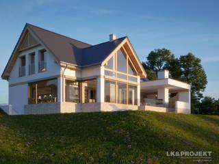 LK&1313: styl , w kategorii Taras zaprojektowany przez LK & Projekt Sp. z o.o.,