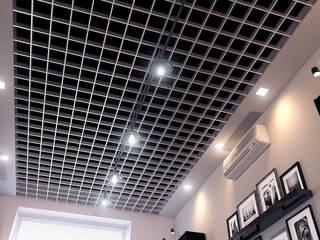 Кабинет руководителя Рабочий кабинет в стиле лофт от Architoria 3D Лофт