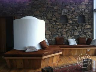 Three Glens, Dumfries Modern living room by Mark Waghorn Design Modern