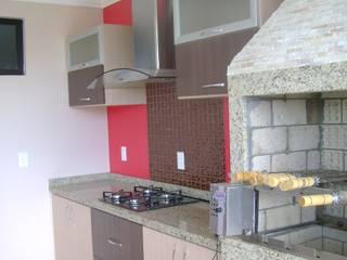 Cozinha gourmet da família Cozinhas modernas por Franka Arquitetura Moderno