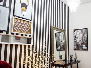 Hall social Corredores, halls e escadas ecléticos por Franka Arquitetura Eclético