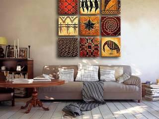"""Obraz """"Układanka ornamentów"""": styl , w kategorii  zaprojektowany przez BIMAGO.PL"""
