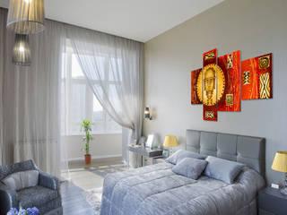 """Obraz na płótnie """"Maska"""": styl , w kategorii  zaprojektowany przez BIMAGO.PL"""