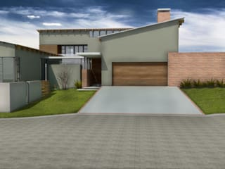 House Ngidi:   by ENDesigns Architectural Studio