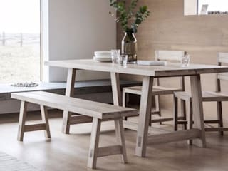 Dining Benches: rustic  by Modish Living, Rustic