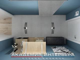 Квартира по скандинавским мотивам.: Коридор и прихожая в . Автор – Светлана ковальчук Дизайн студия 'Академия Интерьера'