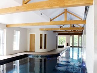 Swimming pool extension to a Victorian villa Modern pool by Robin Ashley Architects Modern