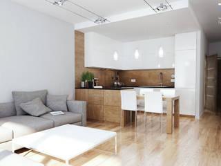 Modern Kitchen by RESE Architekci Biuro Projektowe Modern