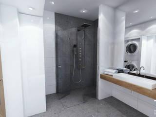 Modern Bathroom by RESE Architekci Biuro Projektowe Modern